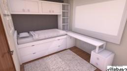 Dormitorio infantil en Bilbao